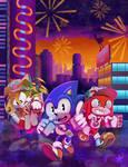 Sonic Revo Poster 2018 by Gigi-D