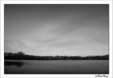 over the lake by raduborzea
