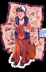 Gravity Falls - Dipper Deer