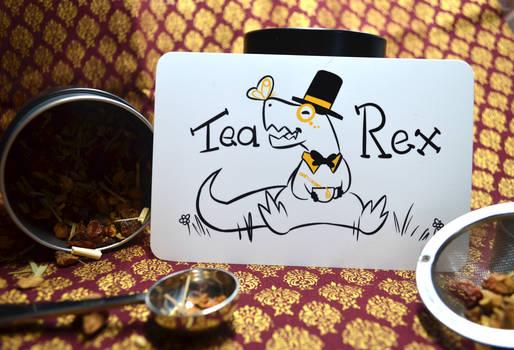 Tea Rex - Table of Curiosities on Etsy