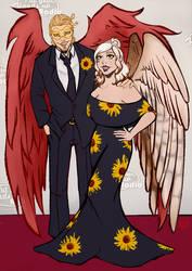 Commissiosn - Haruku and Hawks
