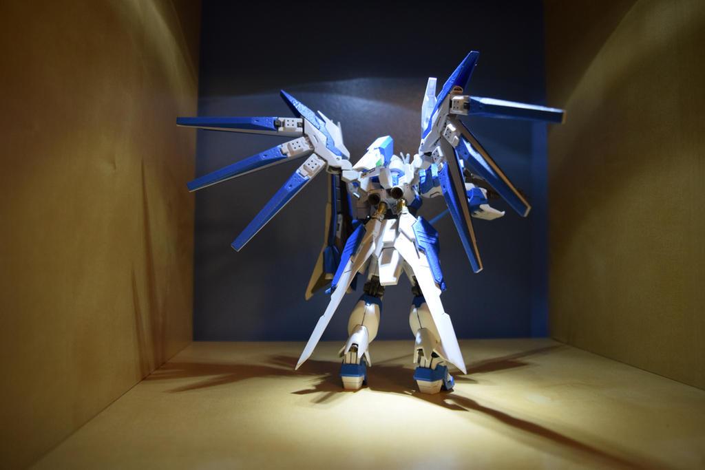 HGBF HI NU Gundam VRabe (Back View) by EnemySpartan