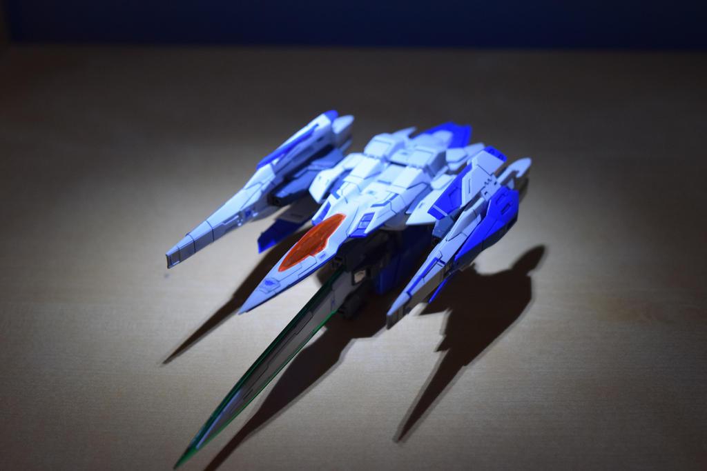 RG Gundam 00 Raiser(0 Raiser View) by EnemySpartan