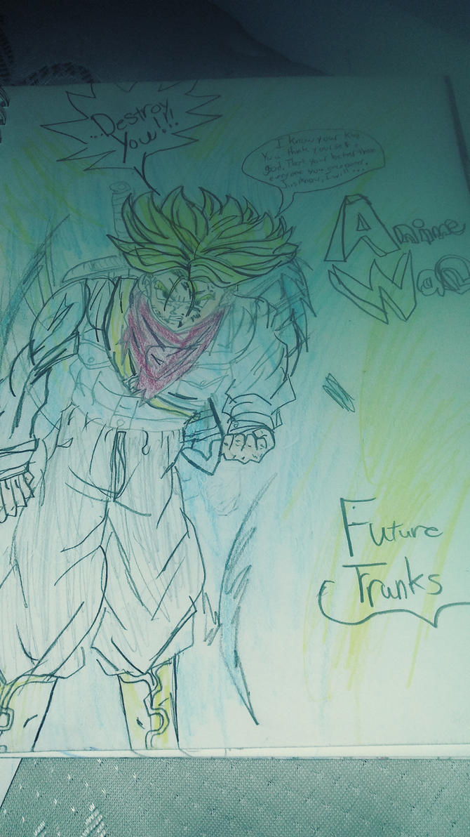 SSJ Rage Future Trunks by JaytheForceSensitive