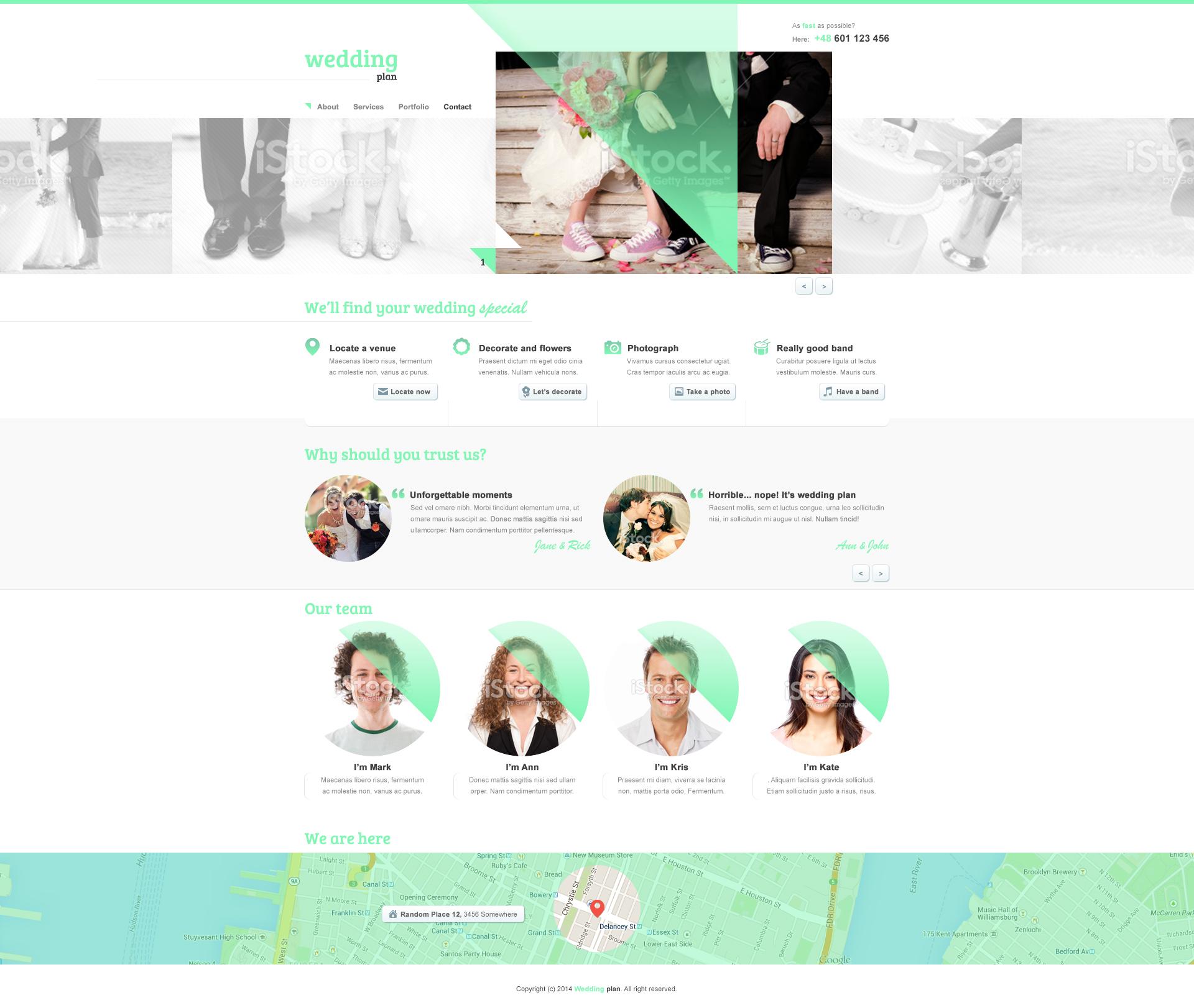 Wedding Plan Webpage by addmin00