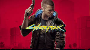 Cyberpunk 2077 Cover Art (Red Version)