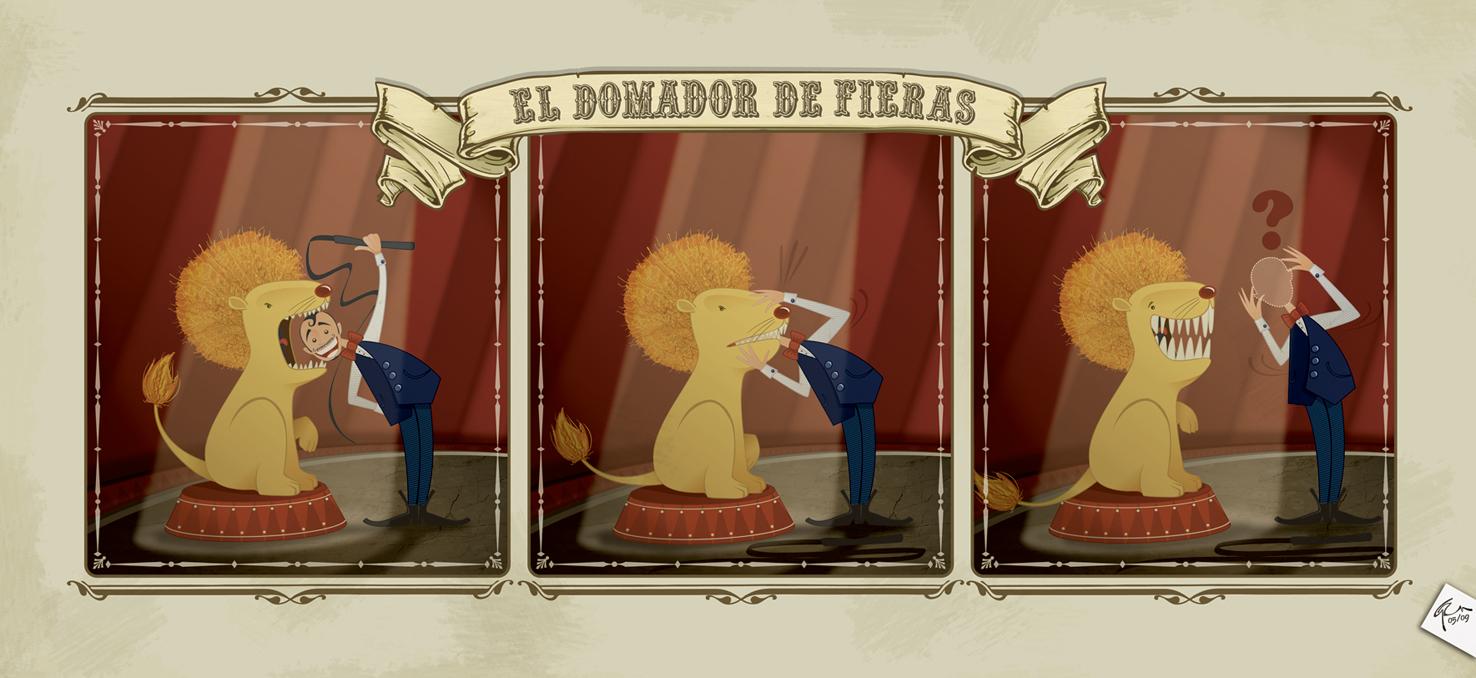 El Domador de Fieras by GaZm85