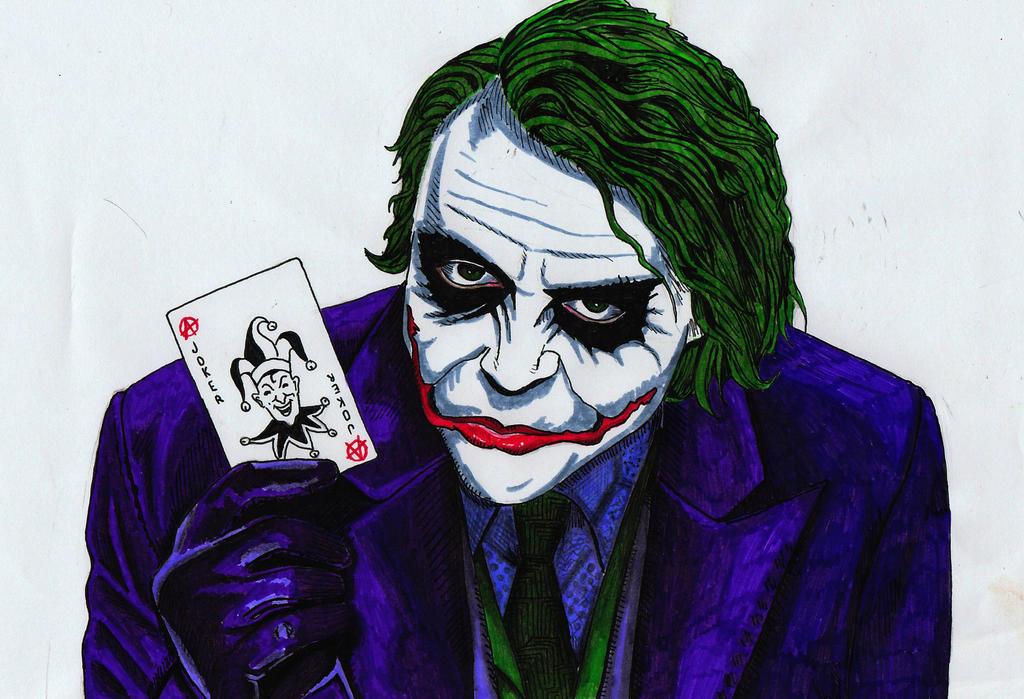 Heath Ledger's Joker comic book version by meralc on ...