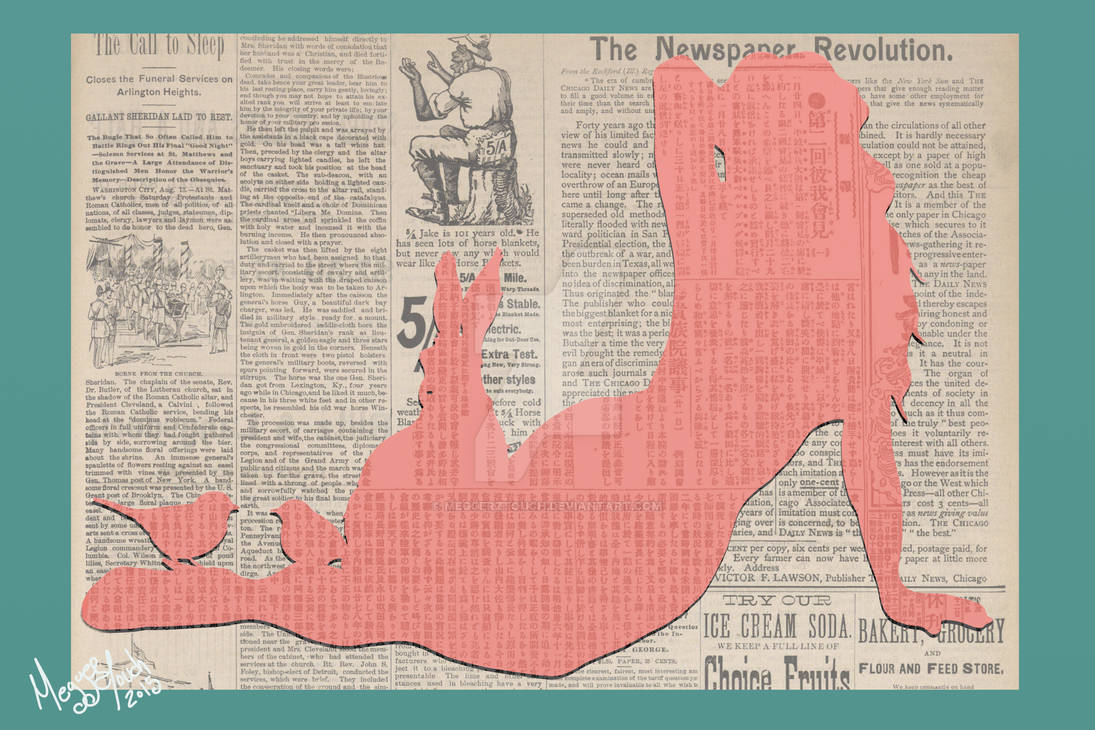 Newspaper Woman