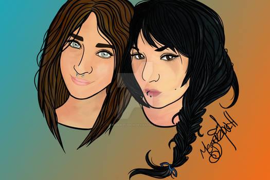 Katie n Meg