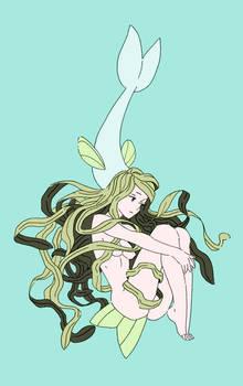 Fish-girl - Original Piece