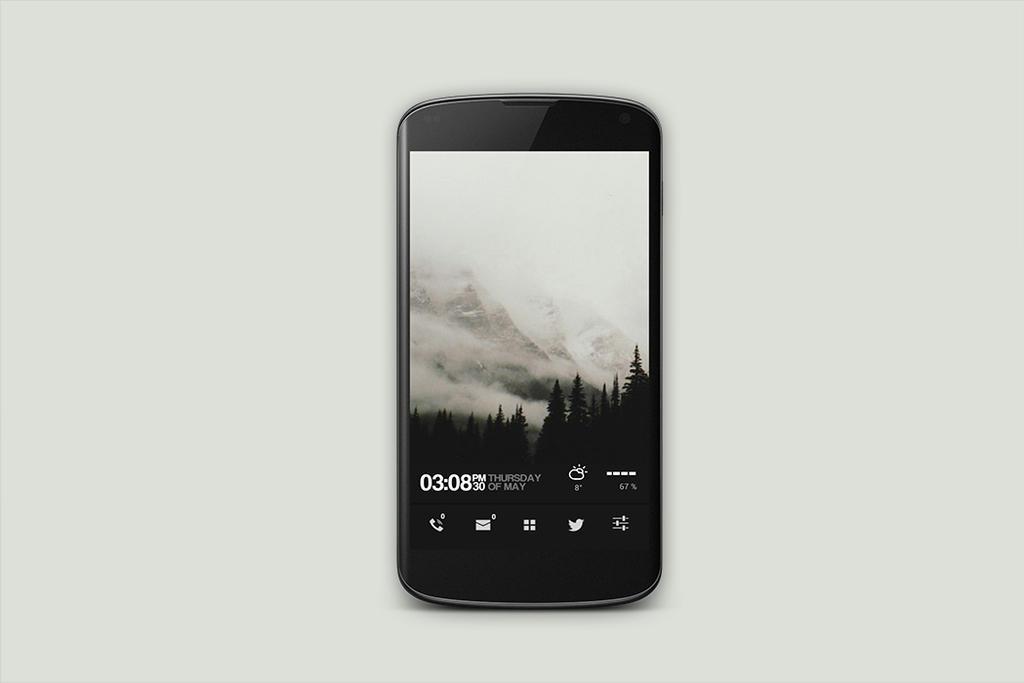 White mountains by Rmlk