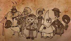 1920's Spongebob Version 2