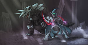 Battle in the Temple by WforWumbo