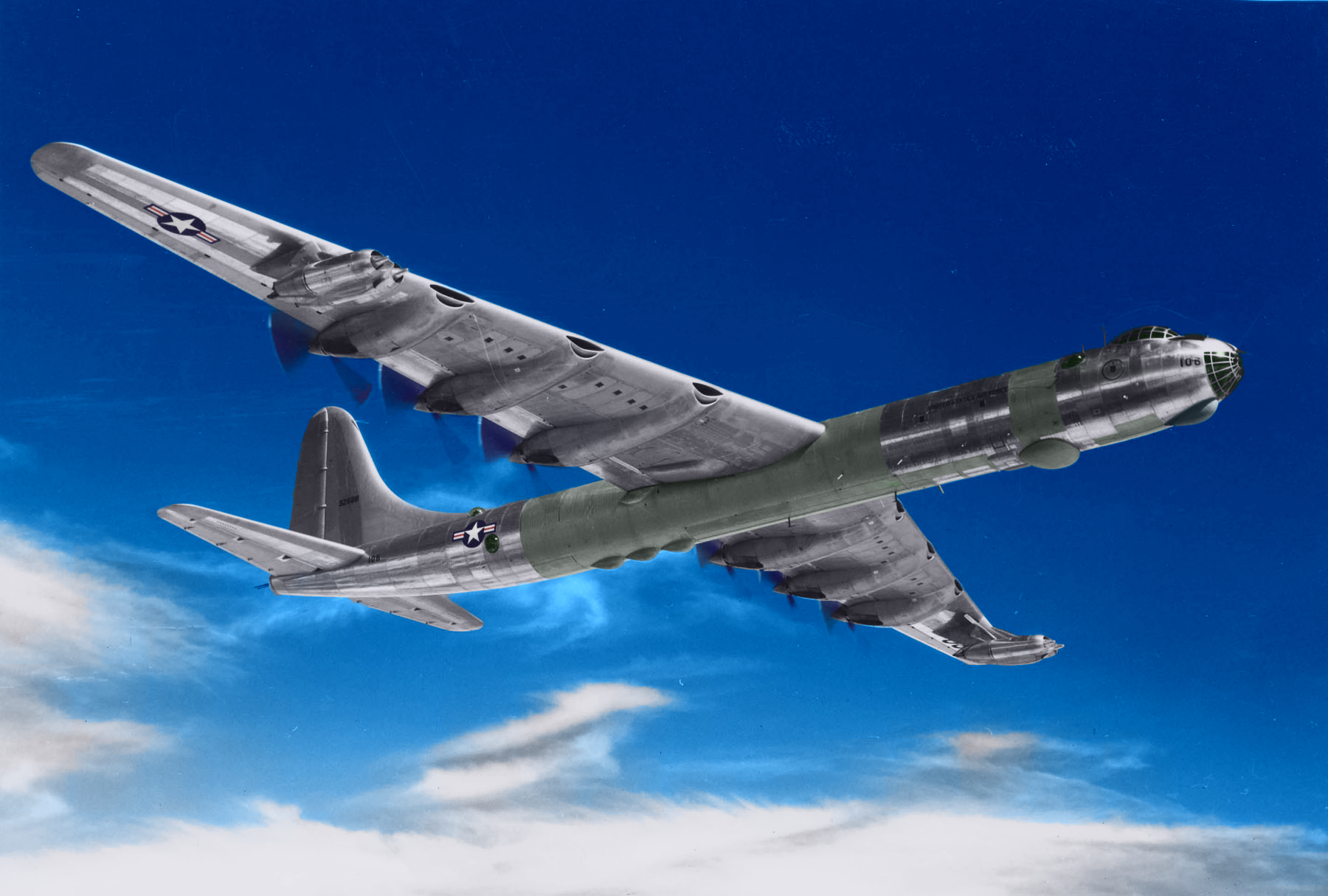 B-36 in Colour by DarkLightningModels