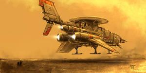 Ship 2 by hunterkiller