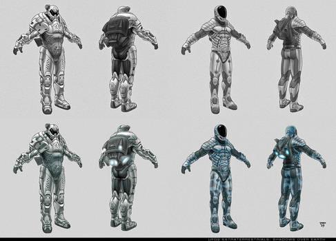 UFO armor concepts