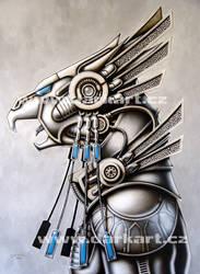 Metal Phoenix by hunterkiller