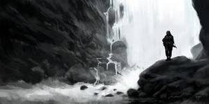 Waterfall by hunterkiller