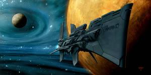 USS Camano by hunterkiller