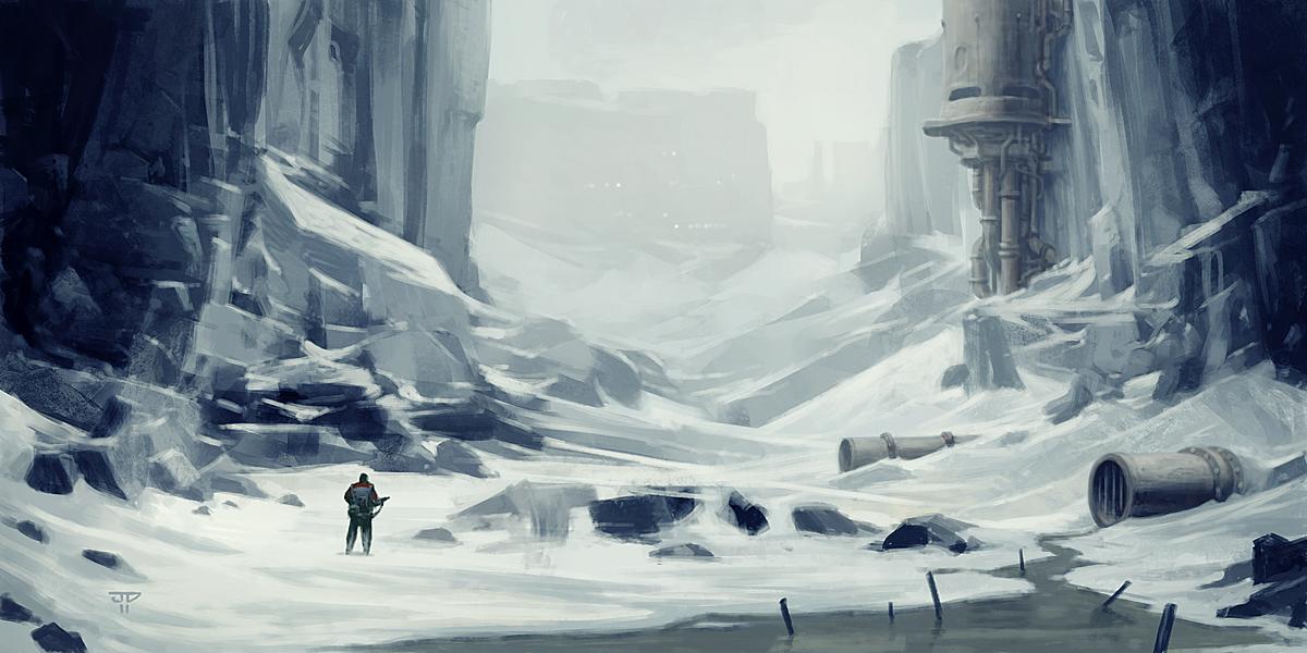 Dolina przez hunterkiller