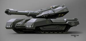 Leopard 3000 by hunterkiller