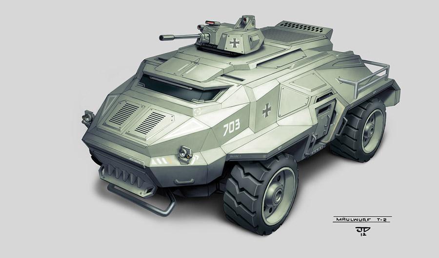 Maulwurf T-2 by hunterkiller