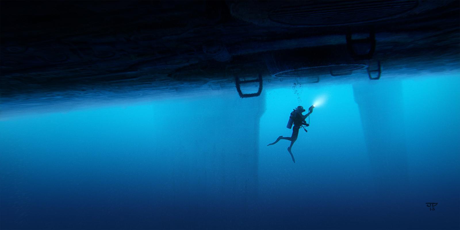Deep Blue by hunterkiller