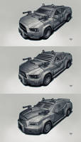 Postapo cars - Sedan