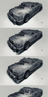 Postapo cars - Limousine