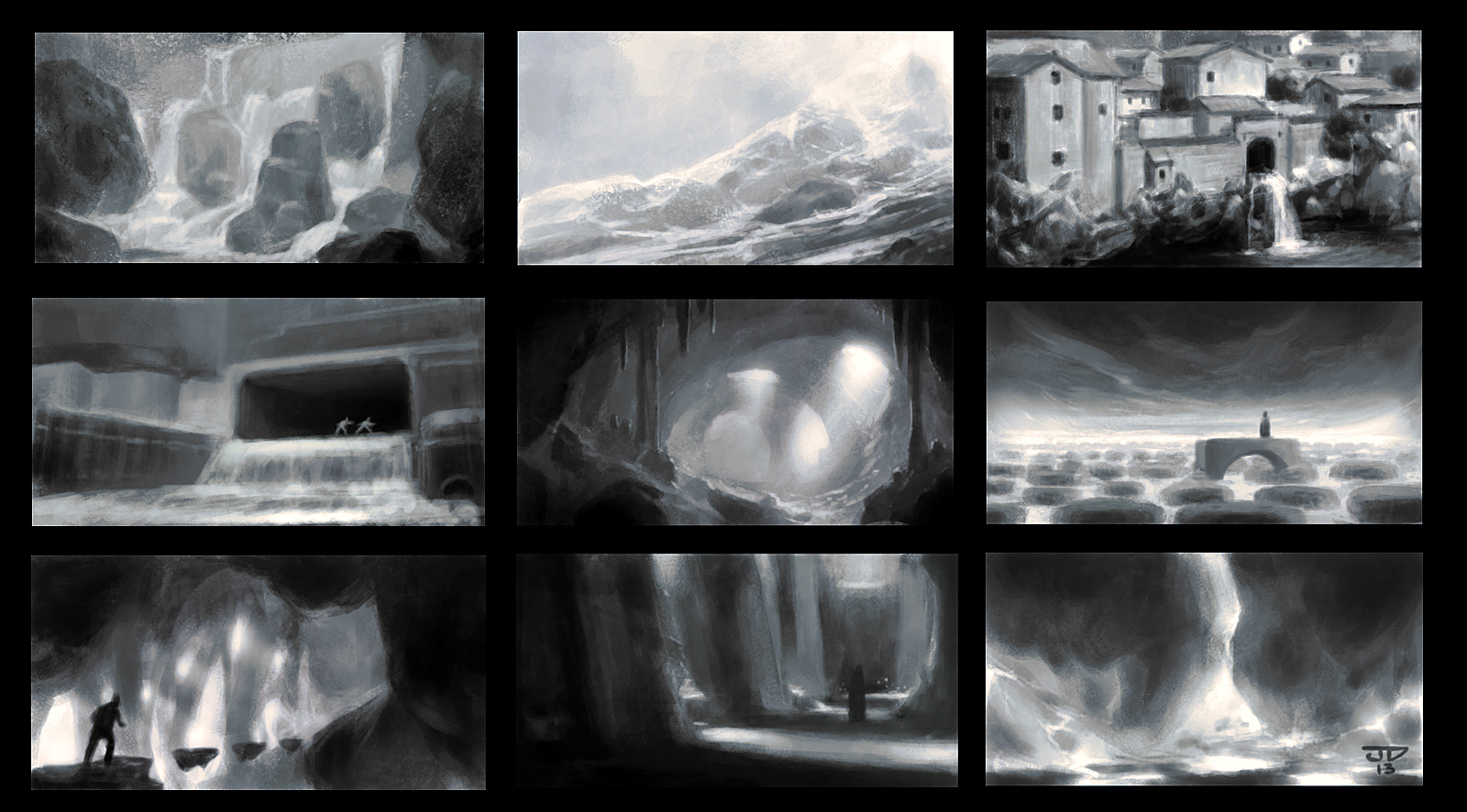 Thumbnail sketches by hunterkiller