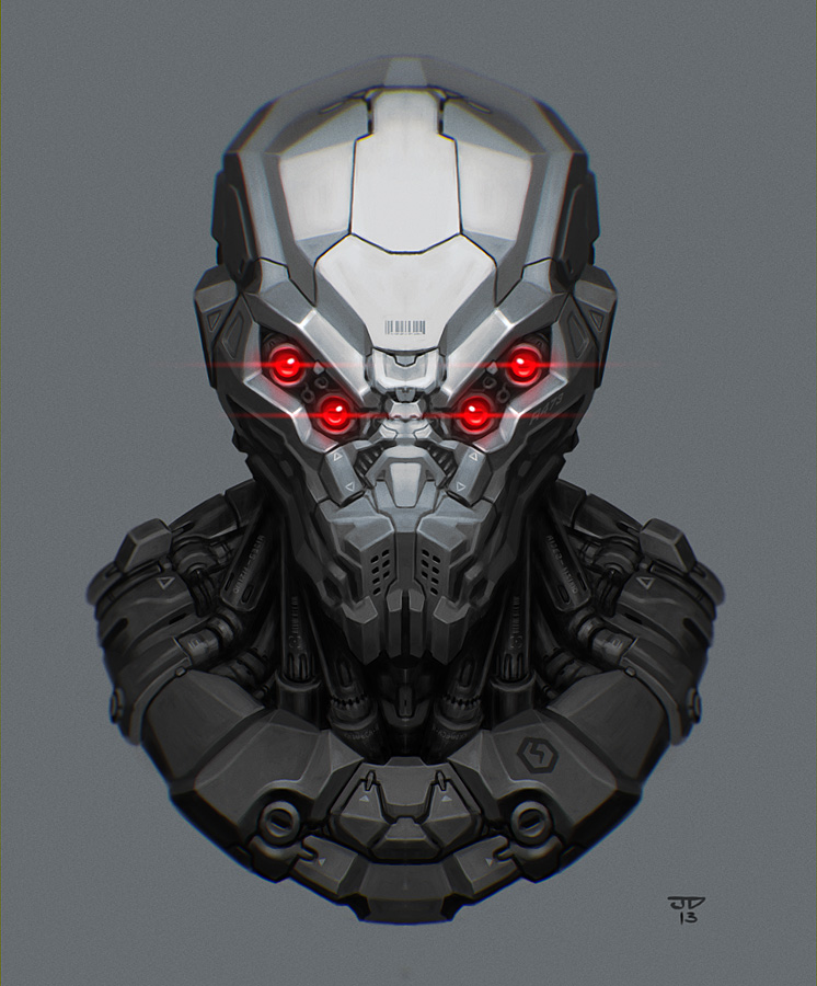 Helmet 02 by hunterkiller on DeviantArt