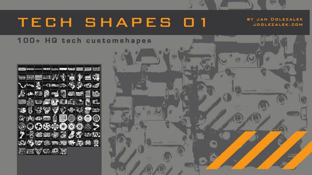 100+ Tech Shapes 01