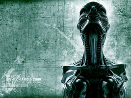 Biomechanoid 2000 by hunterkiller