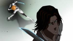 Bleach_Ichigo VS Tsukishima by Wish-Man