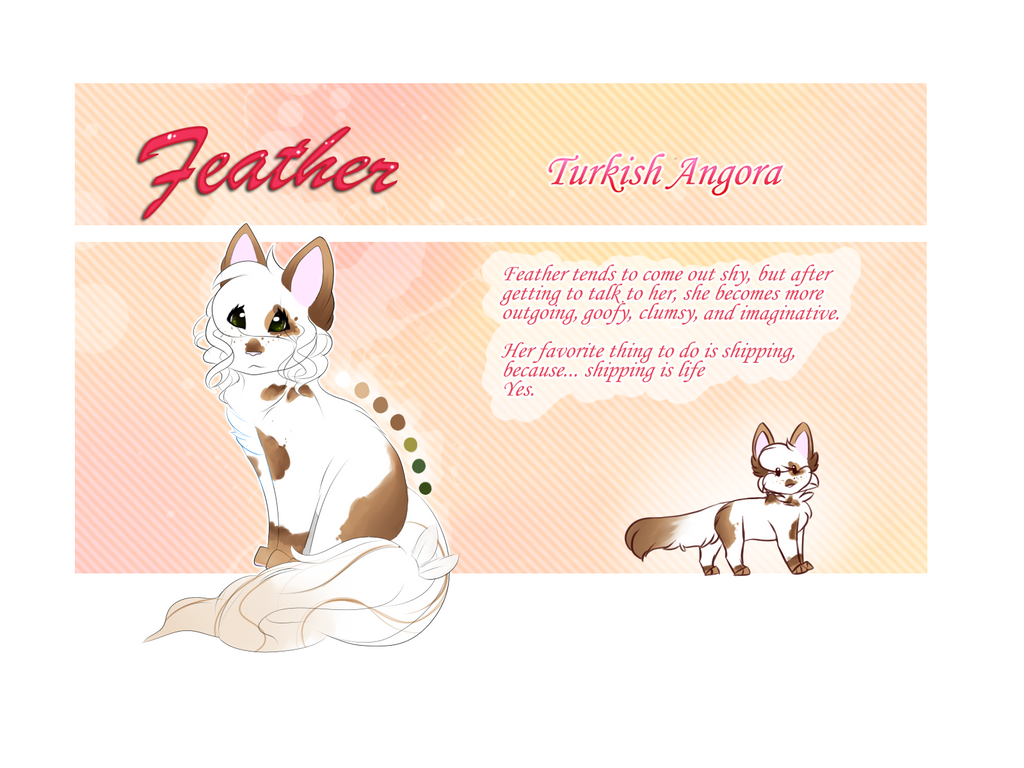 Feather .:Ref:. by Featherwishes