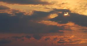 Monsoon Sunset Stock Long