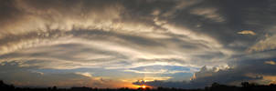 July 1st Sunset Panorama by Phenix59