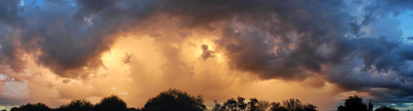 Six AM Weather panorama by Phenix59