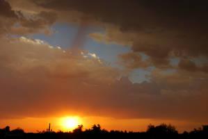 Tonights Monsoon Sunset by Phenix59
