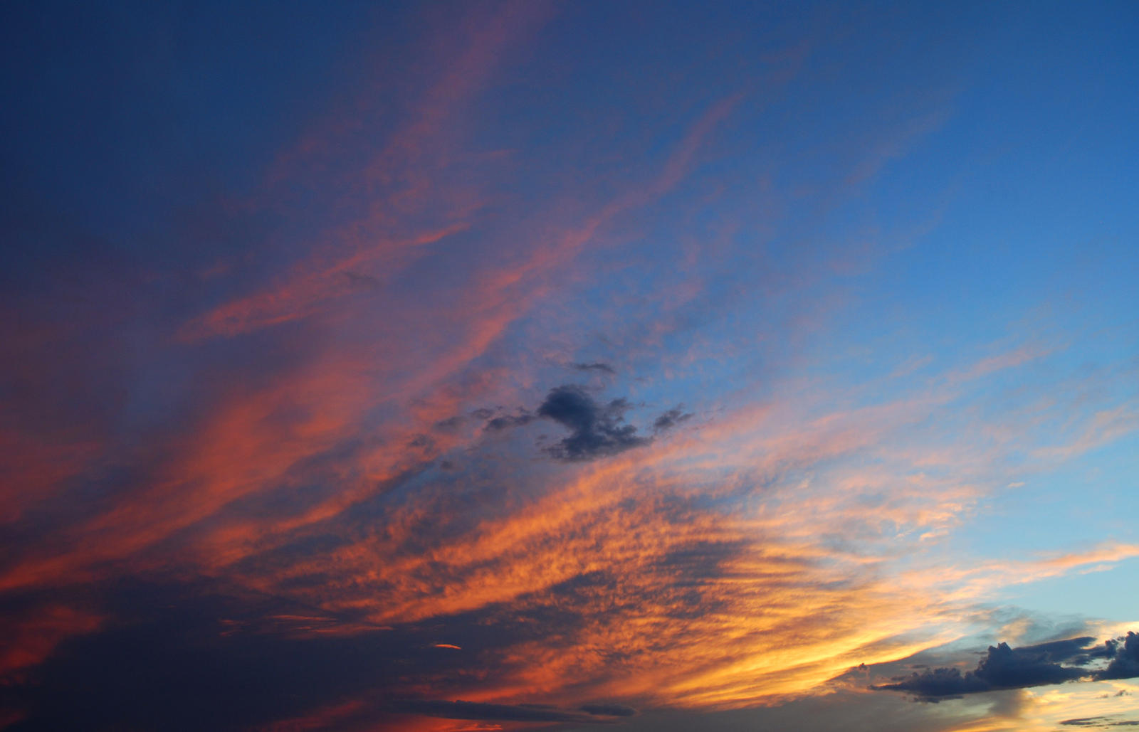 Sunset Clouds Stock 4089