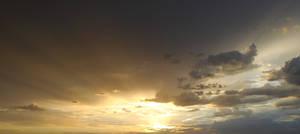Sunset Cloud Stock 9929