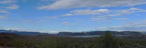 Lake Pleasant Panorama