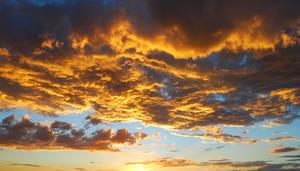 Sunset Cloud Stock 6118