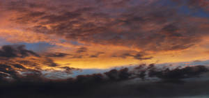Rainy Sunset Stock 1394 by Phenix59