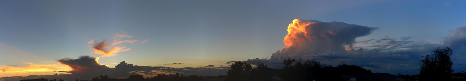 Aug 4th Sunset Panorama