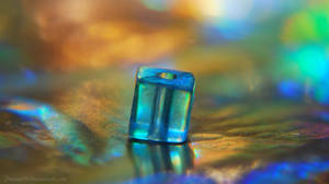 Cube of Blue by Phenix59