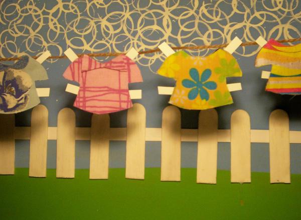 Paper doll clothes line - SPO6 by Clavicordelia