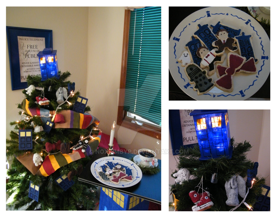 Doctor Who Christmas by noxzimbyp
