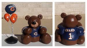 Clay Chicago Bears Bear